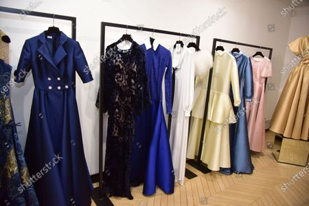 Stock Picture of Alexis Mabille presentation during the Paris Fashion Week Autumn/Winter 21/22