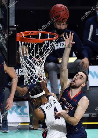 Editorial image of WCC Gonzaga Saint Marys Basketball, Las Vegas, United States - 08 Mar 2021
