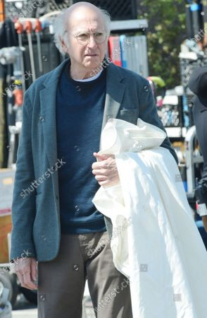 Editorial image of Larry David out and about, Brentwood, California, USA - 08 Mar 2021