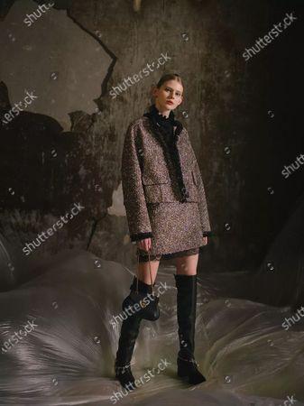 Editorial image of France Paris Fashion Week Shiatzy Chen - 08 Mar 2021