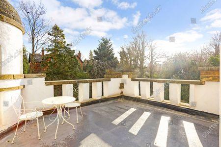 Editorial photo of Mini castle on the market, High Morland Lodge, UK - 09 Feb 2021