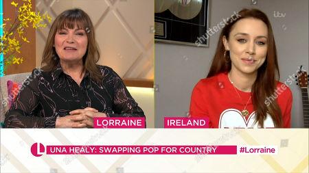Lorraine Kelly, Una Healy