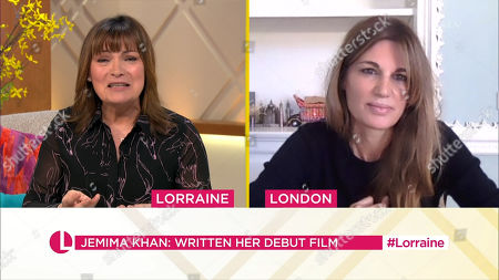 Editorial picture of 'Lorraine' TV Show, London, UK - 09 Mar 2021