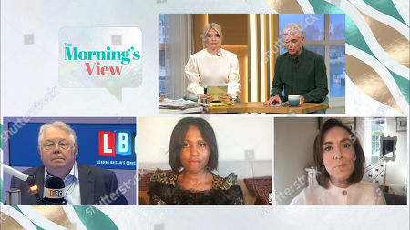 Holly Willoughby, Phillip Schofield, Nick Ferrari, Michelle Gayle, Camilla Tominey