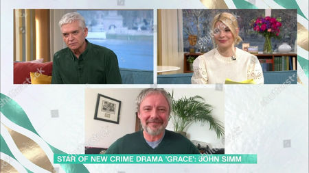 Phillip Schofield, Holly Willoughby, John Simm