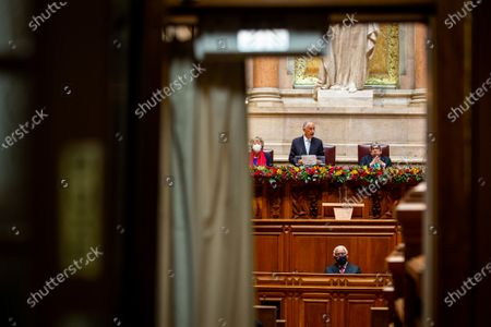 Editorial picture of Portuguese President Marcelo Rebelo de Sousa swearing in ceremony, Lisbon, Portugal - 09 Mar 2021