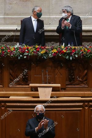 Editorial image of Portuguese President Marcelo Rebelo de Sousa swearing in ceremony, Lisbon, Portugal - 09 Mar 2021