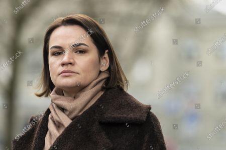 Editorial picture of Svetlana Tikhanovskaya visits Bern, Switzerland - 09 Mar 2021