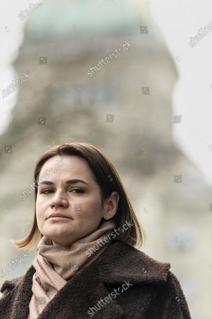 Editorial photo of Svetlana Tikhanovskaya visits Bern, Switzerland - 09 Mar 2021