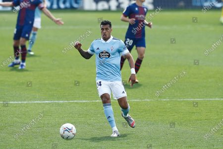 "Jeison Murillo (Celta) - Football / Soccer : Spanish ""La Liga Santander"" match between SD Huesca 3-4 RC Celta de Vigo at the Estadio El Alcoraz in Huesca, Spain."