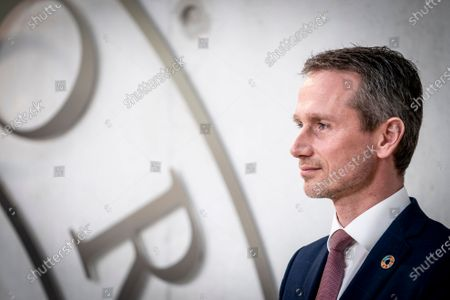 The special representative Kristian Jensen at Marienborg in Kongens Lyngby, Denmark, 09 March 2021. Kristian Jensen was appointed by Danish government as a new special representative and will work on Denmark's candidacy for the UN Security Council 2025-2026.