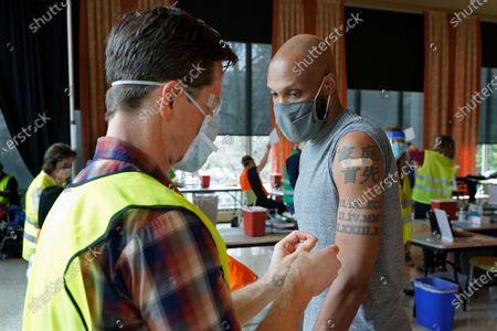 Editorial picture of Virus Outbreak Vaccines Volunteers, Seattle, United States - 25 Feb 2021