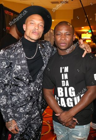 Stock Image of Jeremy Meeks and O.T. Genasis