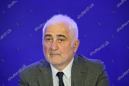Guy Savoy during a convention on agriculture and food