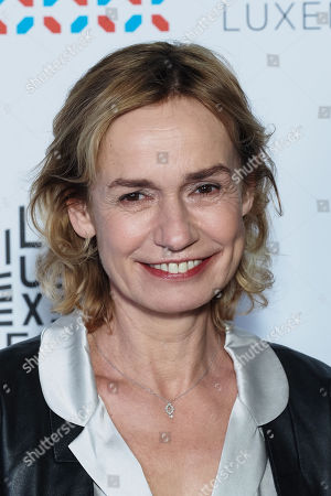Sandrine Bonnaire attends the 11th Luxembourg city film festival jury photocall at Hotel Du Louvre