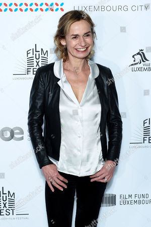 Stock Image of Sandrine Bonnaire attends the 11th Luxembourg city film festival jury photocall at Hotel Du Louvre
