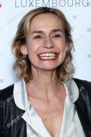 Stock Photo of Sandrine Bonnaire attends the 11th Luxembourg city film festival jury photocall at Hotel Du Louvre