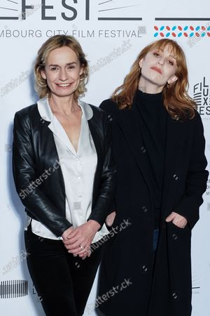 (L-R) Sandrine Bonnaire and Lolita Chammah attend the 11th Luxembourg city film festival jury photocall at Hotel Du Louvre