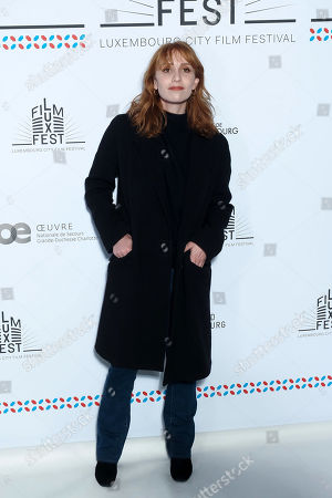 Lolita Chammah attends the 11th Luxembourg city film festival jury photocall at Hotel Du Louvre