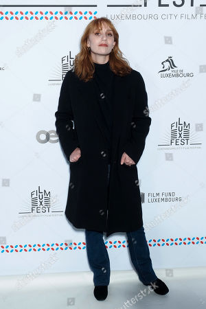 Stock Photo of Lolita Chammah attends the 11th Luxembourg city film festival jury photocall at Hotel Du Louvre