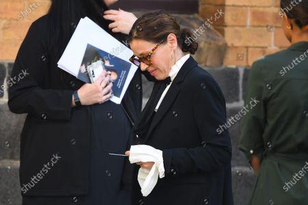 Editorial picture of Funeral of music icon Michael Gudinski in Melbourne, Australia - 10 Mar 2021