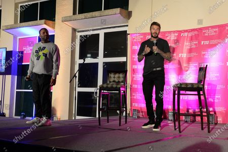 David Beckham and David Beckham attend the David Grutman Experience 'The Class' held at the Kovens Conference Center at Florida International University Biscayne Bay Campus