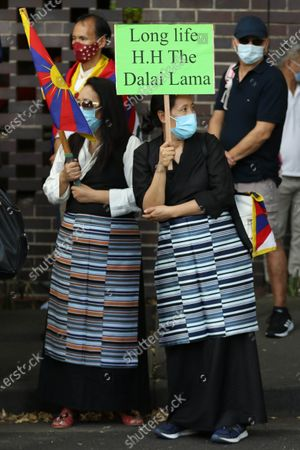 Tibetans and supporters commemorate the 62nd Tibetan Uprising Day with rallies in cities across Australia and globally. In Sydney protesters held a rally in Martin Place before marching to the Consulate General of the People's Republic of China at 39 Dunblane St, Camperdown