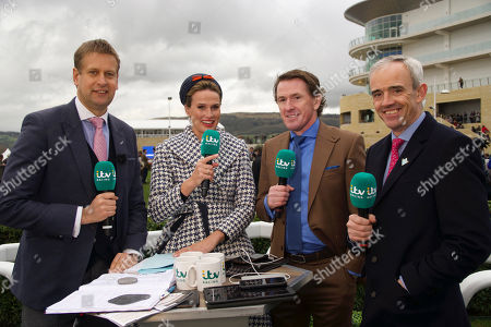 Editorial image of 'ITV Racing: the Cheltenham Festival Live' TV Show, UK - 16 Mar 2021