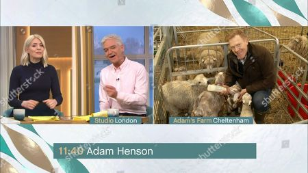 Holly Willoughby, Phillip Schofield and Adam Henson