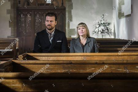 Matt Stokoe as Mark and Maggie O'Neill as Gill.