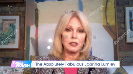 Stock Picture of Joanna Lumley