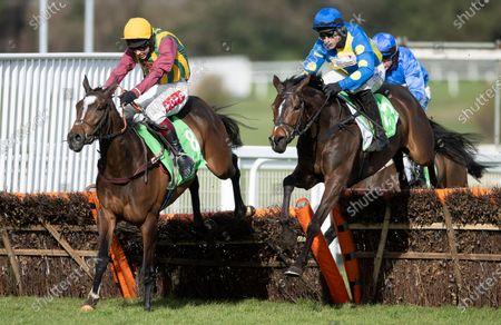 Editorial photo of Horse Racing from Sandown Park Racecourse, UK - 13 Mar 2021 -