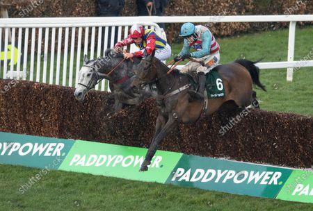 Editorial image of Horse Racing from Sandown Park Racecourse, UK - 13 Mar 2021 -