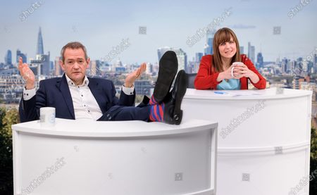 Editorial photo of Alexander Armstrong and Rachel Stubbings host fictional TV show, UK - 10 Mar 2021