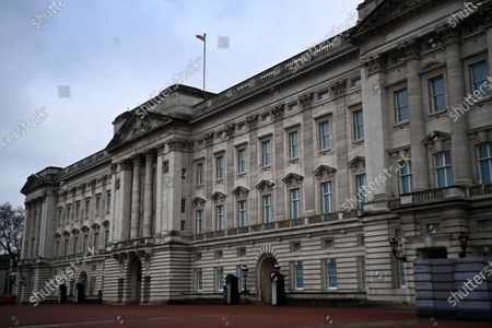 A view of Buckingham Palace in London, Britain, 10 March 2021. US channel CBS aired a television interview with Britain's Prince Harry and Meghan, Duke and Duchess of Sussex on 07 March. Buckingham Palace have responded with a statement to the racism allegations following the TV interview that was broadcast in the UK on 08 March.