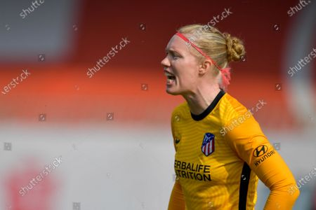 Editorial image of Atletico de Madrid v Chelsea FC, UEFA Women's Champions League, Round of 16 football match, U-Power Stadium, Monza, Italy - 10 Mar 2021