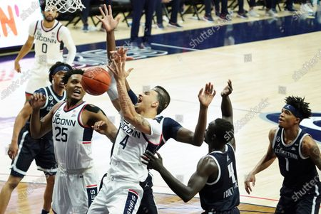 Editorial image of Georgetown UConn Basketball, Storrs, United States - 06 Mar 2021