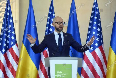 Editorial image of 12 Points to Strengthen Strategic Partnership between US and Ukraine presented in Kyiv - 10 Mar 2021