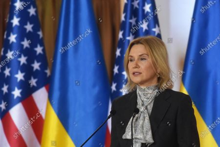 Editorial photo of 12 Points to Strengthen Strategic Partnership between US and Ukraine presented in Kyiv - 10 Mar 2021