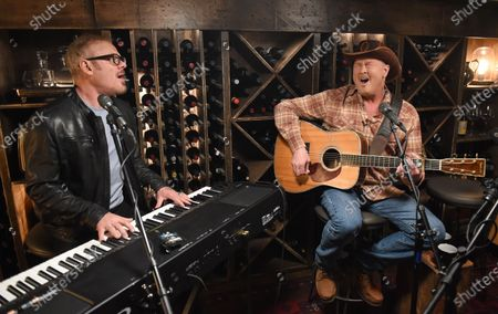 Editorial picture of Tracy Lawrence stops by Phil Vassar's 'Songs from the Cellar', Nashville, Tennessee, USA - 10 Mar 2021