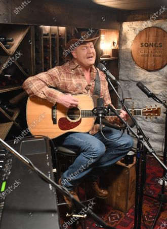 Stock Photo of Tracy Lawrence stops by the Circle Television Network, 'Phil Vassar's Songs from the Cellar', in Nashville, TN. Airing in March 11, 2021 on Circle and American Songwriter Podcast Network @PhilVassarSFTC @circleallaccess
