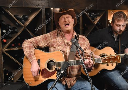 Editorial image of Tracy Lawrence stops by Phil Vassar's 'Songs from the Cellar', Nashville, Tennessee, USA - 10 Mar 2021