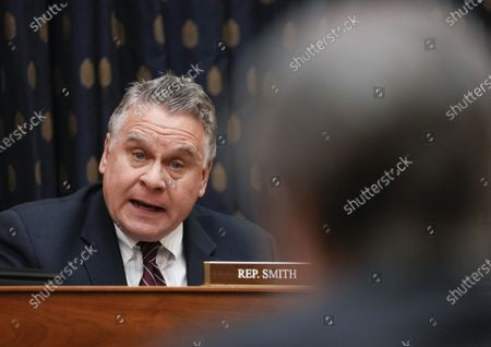 Rep. Chris Smith, R-N.J., speaks during the House Committee on Foreign Affairs hearing on the administration foreign policy priorities on Capitol Hill, in Washington