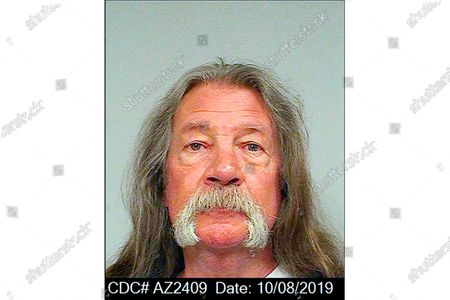 This Oct. 8, 2019 photo, released by the California Department of Corrections and Rehabilitation shows inmate John Sullivan. The 66-year-old inmate was found unresponsive in his cell at San Quentin State Prison early, and state corrections officials said they are treating his death as a homicide. Sullivan had served half of his 10-year sentence from Placer County for failing to register as a sex offender, a second-strike