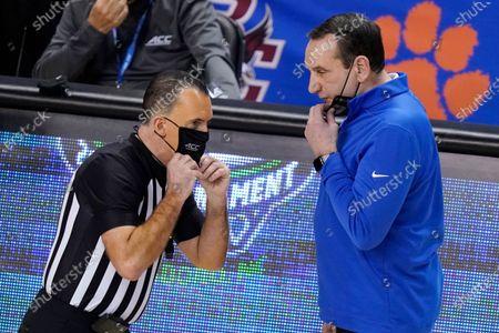 Editorial picture of ACC Louisville Duke Basketball, Greensboro, United States - 10 Mar 2021