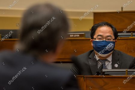 U.S. Rep Andy Kim, D-NJ asks questions of Secretary of state Tony Blinken as he testifies before the House Committee on Foreign Affairs on The Biden Administration's Priorities for U.S. Foreign Policy on Capitol Hill