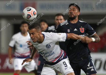 Editorial image of Universidad de Chile vs San Lorenzo, Santiago - 10 Mar 2021