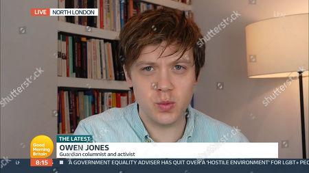 Stock Photo of Owen Jones