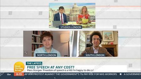 Editorial photo of 'Good Morning Britain' TV Show, London, UK - 11 Mar 2021