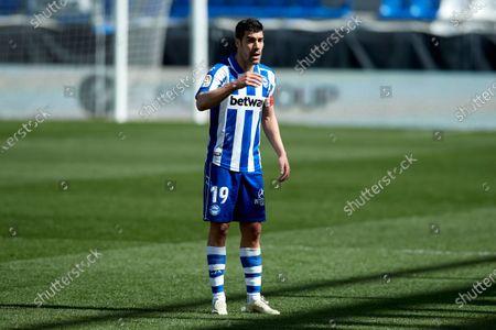 Editorial image of Deportivo Alaves v Cadiz, La Liga, Football, Mendizorrotza Stadium, Vitoria-Gasteiz, Spain - 13 Mar 2021